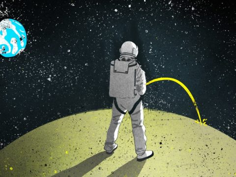 On the Moon, Astronaut Pee Will Be a Sizzling Commodity