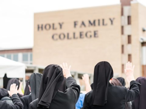 'What am I going to invent now?': Some danger shrimp Catholic college closing may perchance no longer be the last