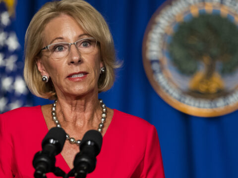 Education Dept. Publicizes It Received't Punish Colleges For Reconsidering Scholar Again
