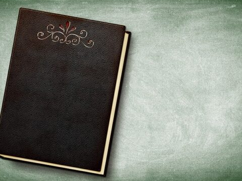 Book Embossing Leather Book Cover  - DarkWorkX / Pixabay