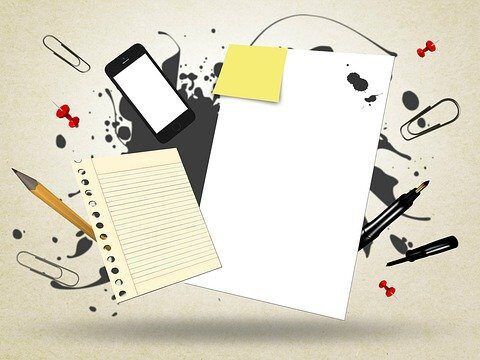 Paper Messy Notes Abstract  - Mediamodifier / Pixabay