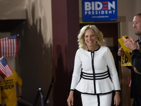 Jill Biden plans to continue to yell if she becomes first girl