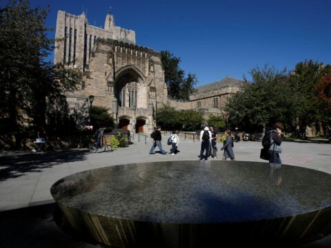 U.S. Justice Department says Yale illegally discriminates against Asians, whites