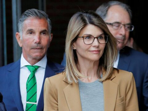 Actress Lori Loughlin, husband face sentencing in U.S. college admissions scandal