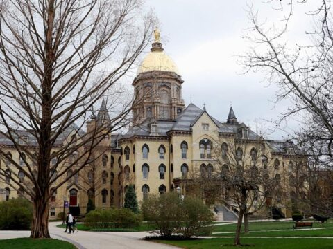 Notre Dame's pupil newspaper runs entrance-page plea: 'Don't make us write obituaries'