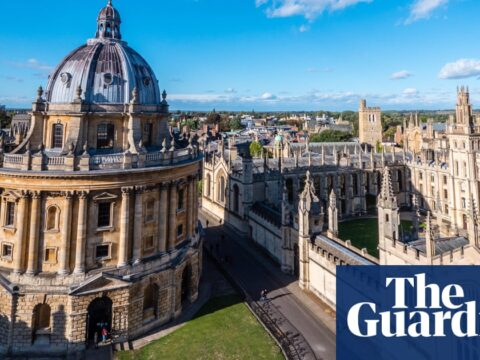 Oxford University takes high put aside in Guardian's annual university files