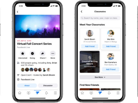 Fb launches Campus to protect college kids linked (once more)