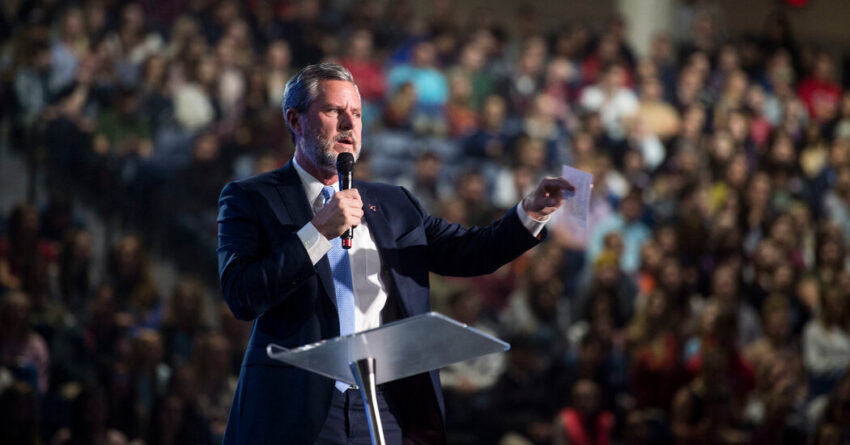 Jerry Falwell Jr. Resigns as Leader of Liberty University
