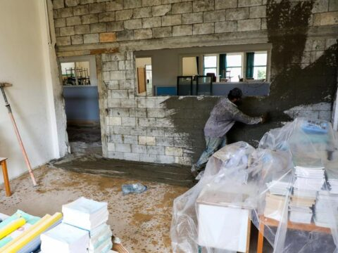 Wrecked colleges pose clean say as Beirut students wait to switch lend a hand to classes